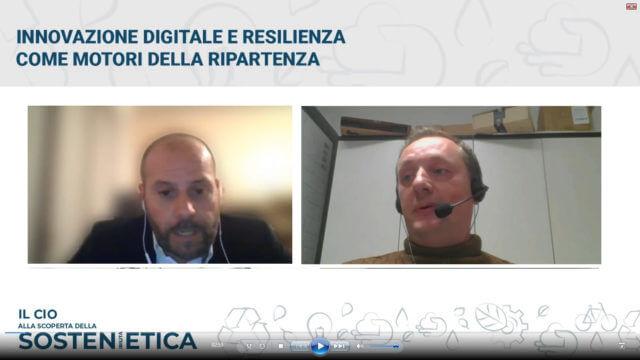 Davide Marini ed Enrico Pavesi