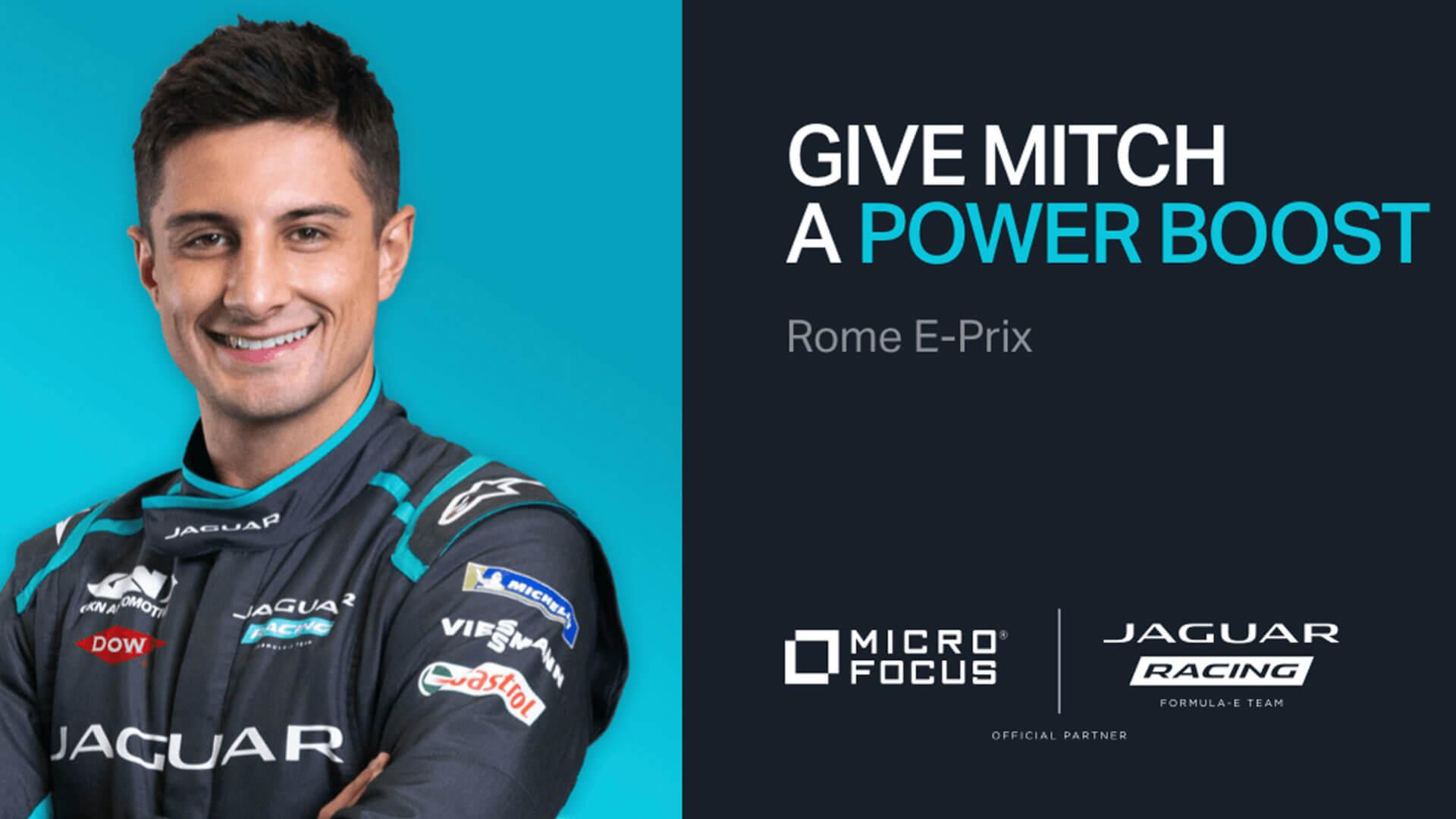Micro Focus e Jaguar Racing